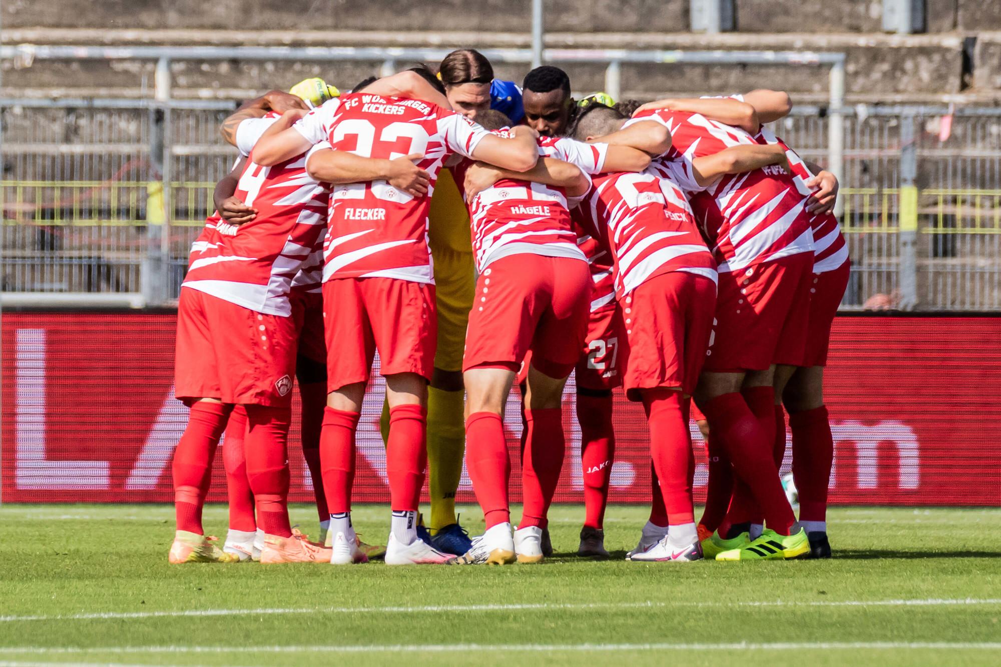 Würzburger Kickers Spielplan